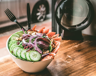 Sweet Cucumber Salad with Vinegar
