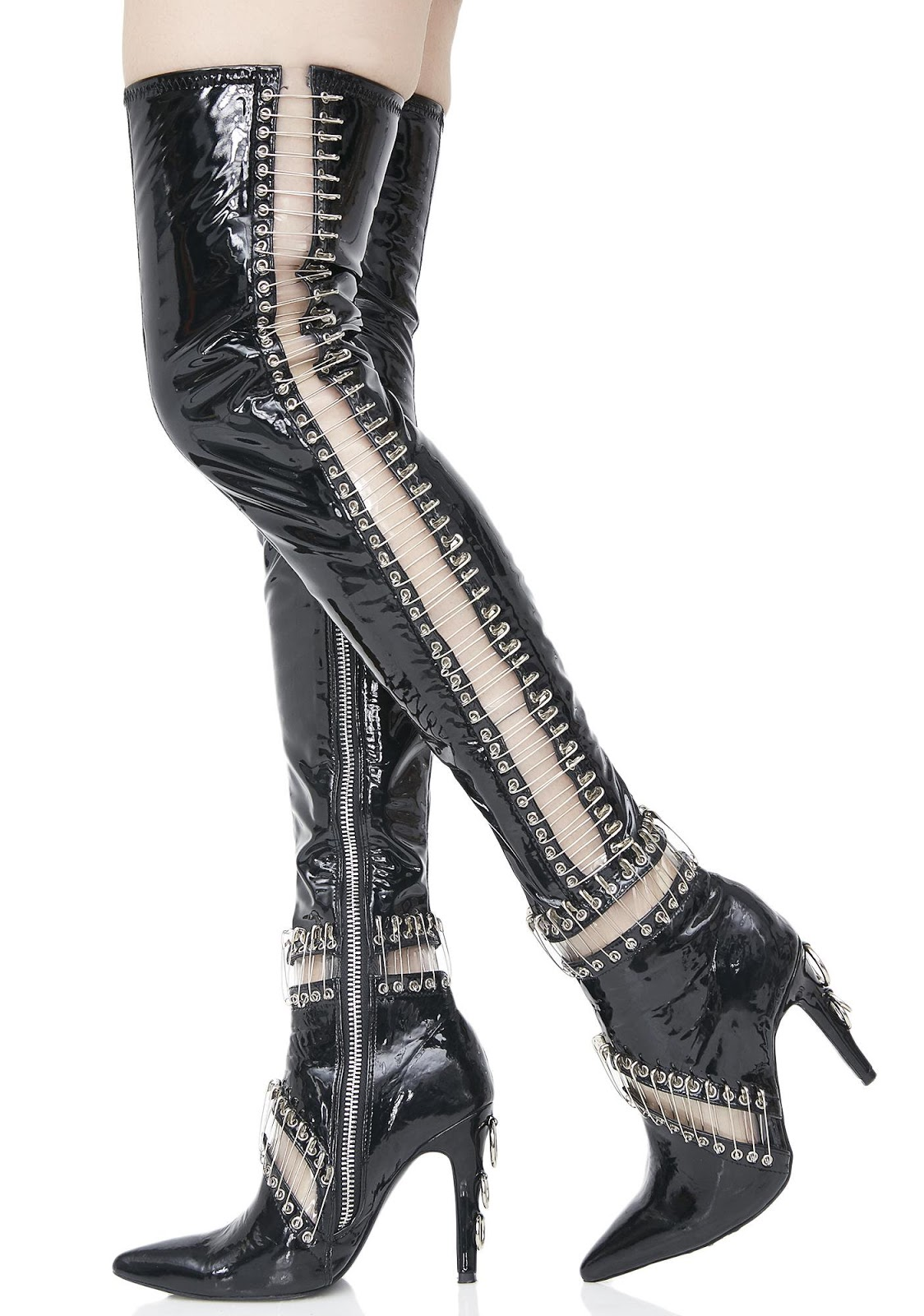 da9a35e334 So Shoe Me ~ 6/16/2017. Today's So Shoe Me is the Pinned Thigh High Boots  by Current Mood.