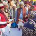 पदयात्रा के दौरान मन्त्री ने नदौली गांव में सड़क उच्चीकृत करने का दिया निर्देश