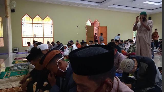 Khutbah Idul Fitri 1441 H.di Masjid Maqamu Iberahim Panggala