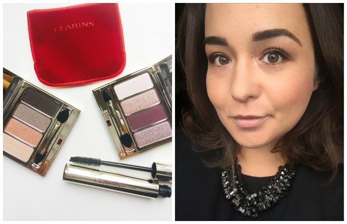 Clarins Nude and Rosewood Eyeshadow Quad Autumn 2016