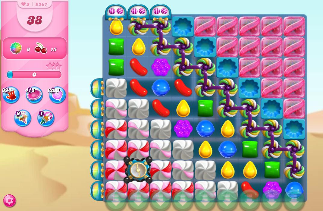 Candy Crush Saga level 9567