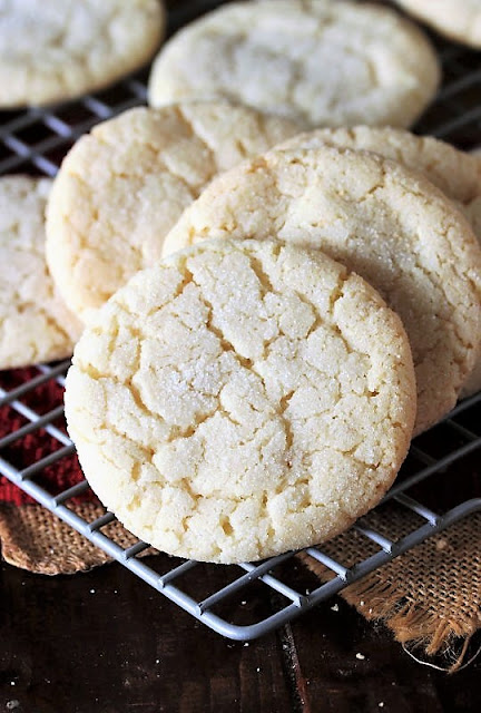 Soft & Chewy Sugar Cookies Image