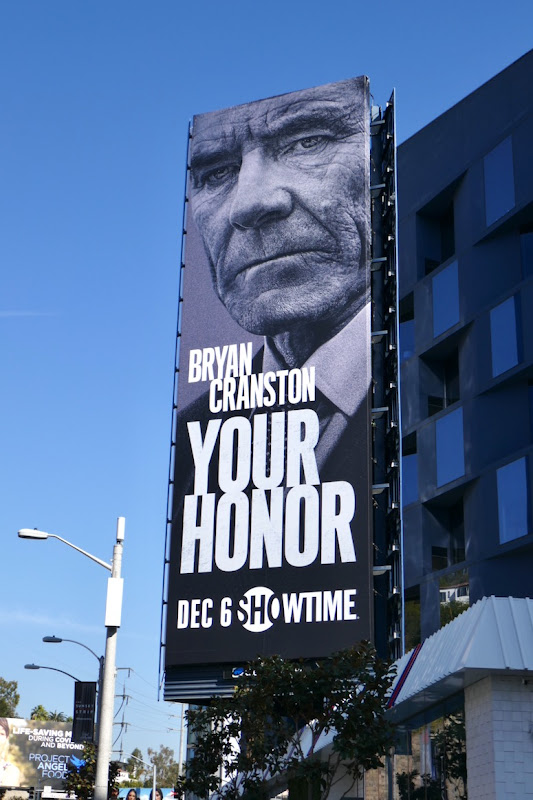 Your Honor series launch billboard