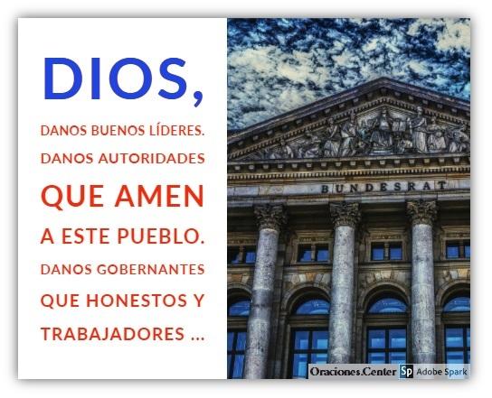 Padre Nuestro - Oración por las Autoridades del País