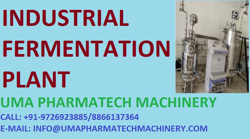 industrial fermentation plant