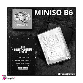 review miniso bullet journal indonesia