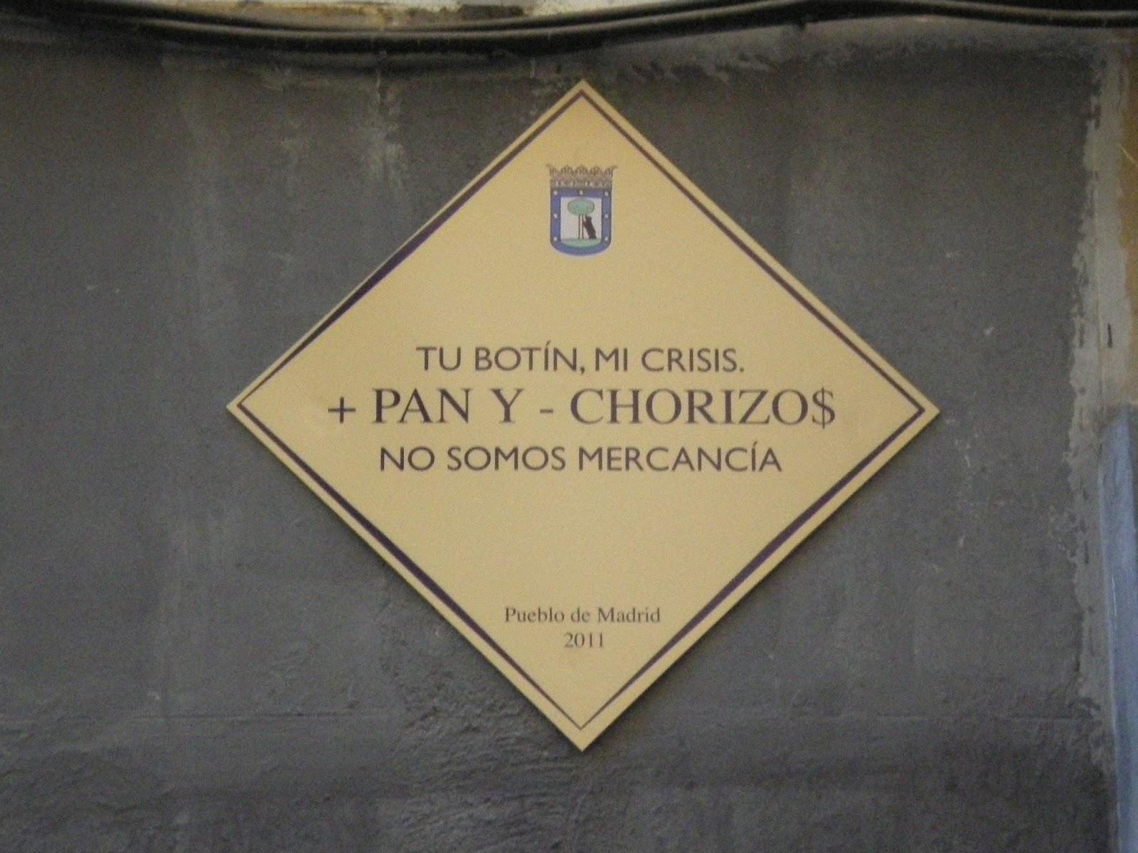 + pan y - chorizos