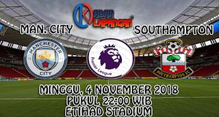 Prediksi Bola Manchester City vs Southampton 4 November 2018