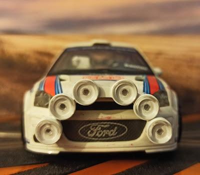 Ford Focus WRC Rally Montecarlo nº6
