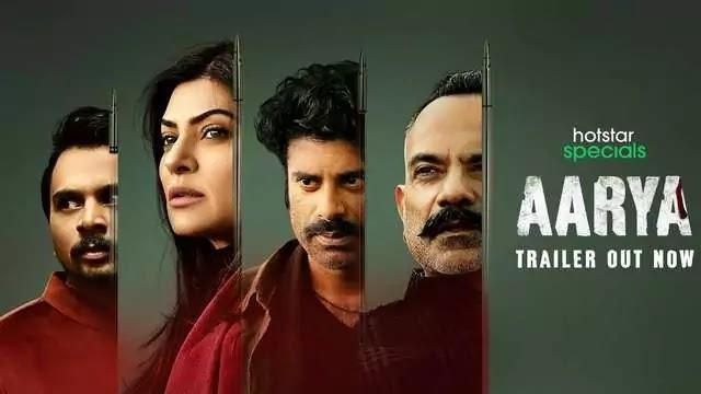 Aarya web series movie film Cast Trailer Release Date Story Review - Hotstar
