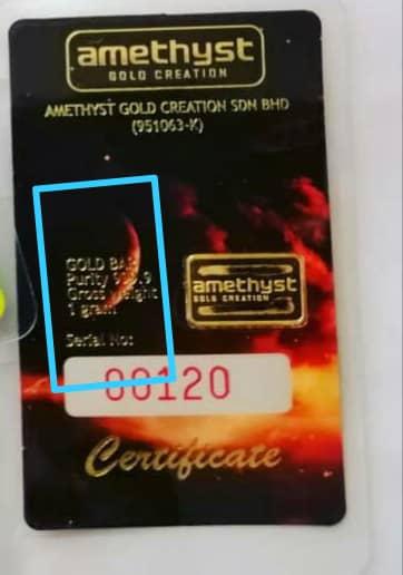 emas goldbar fedmas