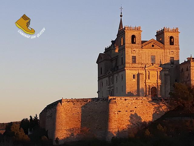 Monasterio de Uclés al atardecer