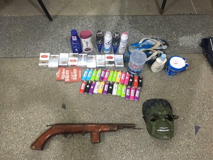 Acusado de furto é preso pela Polícia Militar no município de Caém