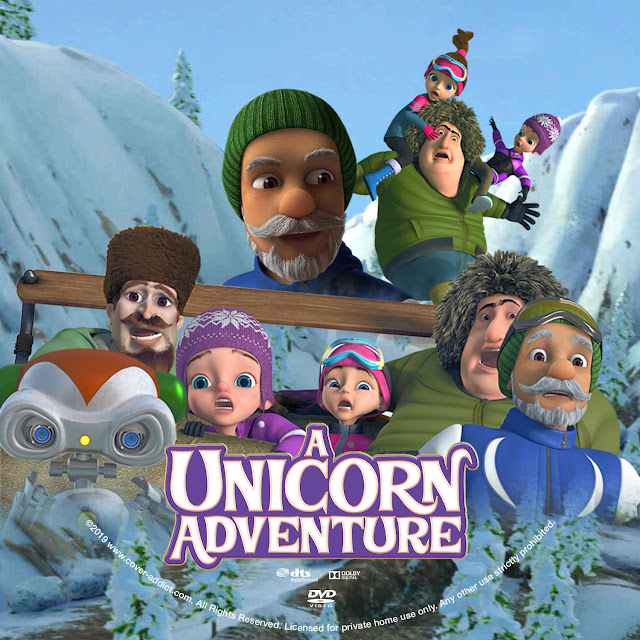 A Unicorn Adventure DVD Cover