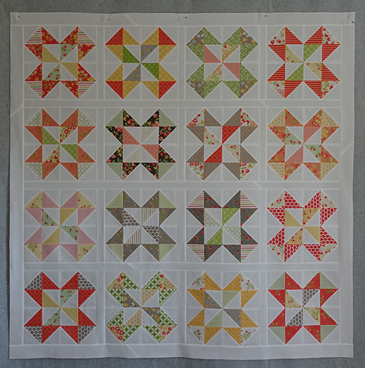 Star Cakes Quilt Free Pattern