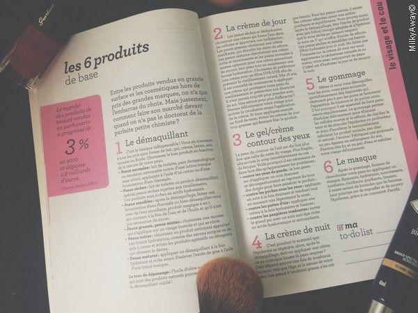 Les 6 produits de base Ma To Do List Beauté aux éditions Marabout