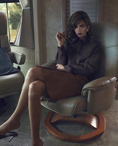 Kendall Jenner fashion magazine naked model photo shoot