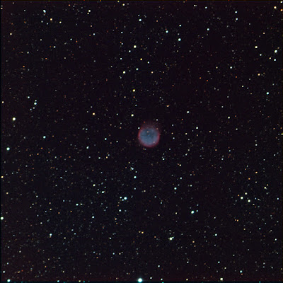 planetary nebula NGC 6781 in colour