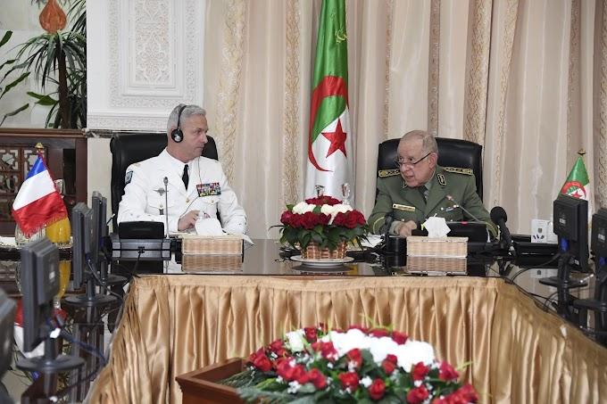 رئيس أركان الجيش الجزائري يؤكد لنظيره الفرنسي أن بلاده تعتبر إستقرار وأمن الجيران مرتبط مباشرة بأمنها.