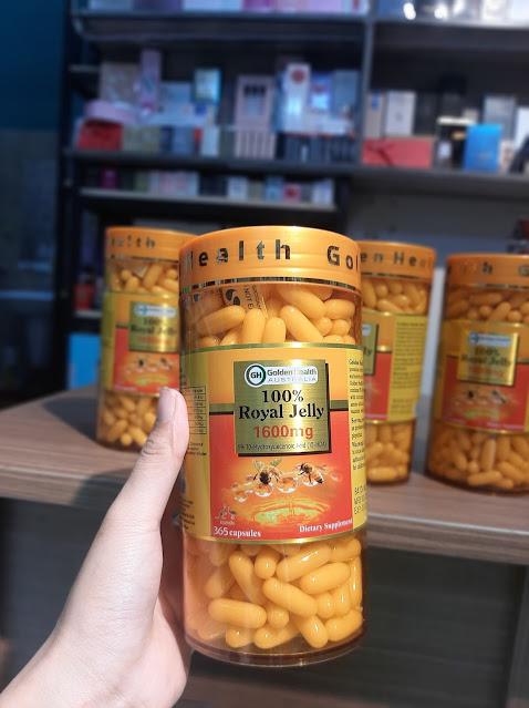 Sữa Ong Chúa  Health Royal Jelly 1600mg Úc