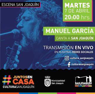 Manuel García canta a San Joaquín
