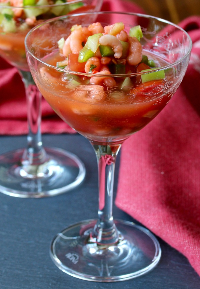 This Vietnamese-Style Shrimp Cocktail is so fresh and spicy.