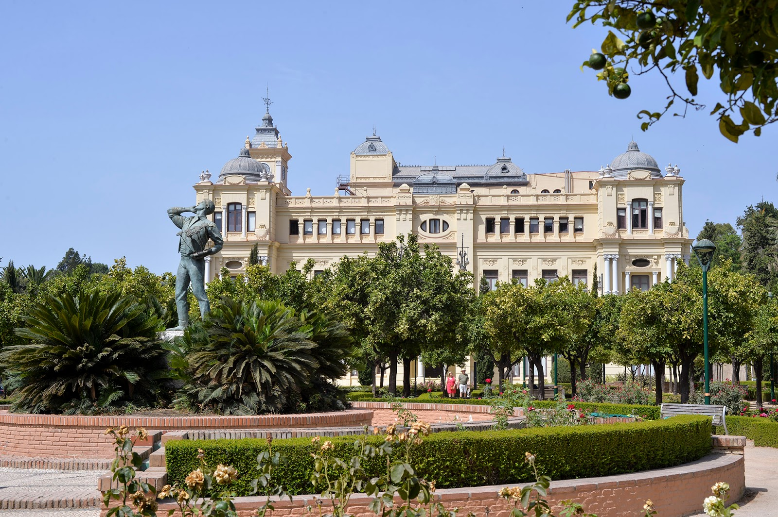 malaga spain city hall