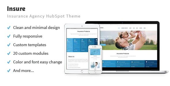 Best Insurance Agency HubSpot Theme