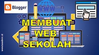 Cara Membuat Web Sekolah Pemula