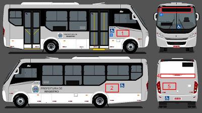 Novo contrato do transporte público de Registro-SP exige diversas melhorias pela empresa vencedora