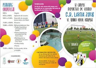 VI Campus deportivo de verano CD Lakua