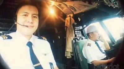 Diego Enrile Mamahit Co Pilot Cekatan Tanpa Kenal Lelah