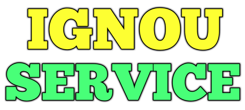 Free Solved Assignment - IGNOU SERVICE
