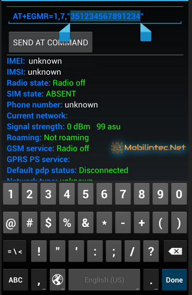 How to Restore IMEI With MTK Engineering Application