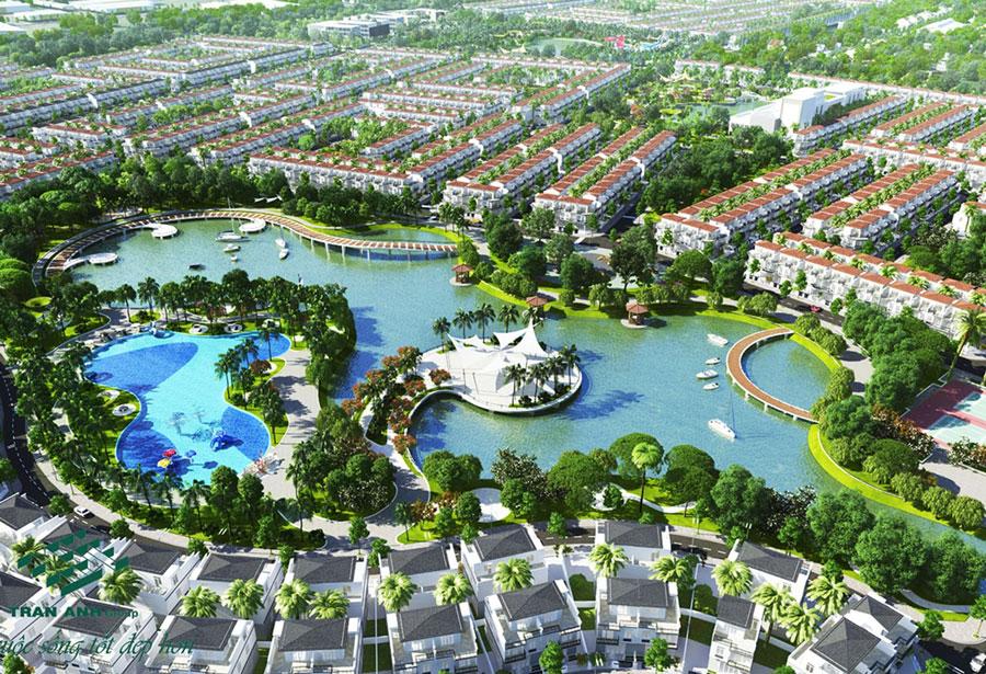 Eco Park được coi là một khu đô thị lý tưởng.
