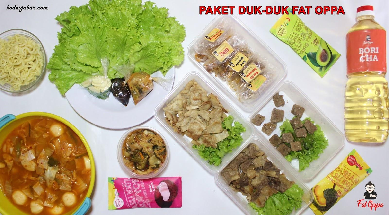 Paket Duk-Duk Fat Oppa, Menu Andalan Selama Bulan Ramadhan