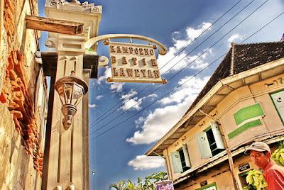 Kampung Batik Lewayen - Tempat wisata di Solo