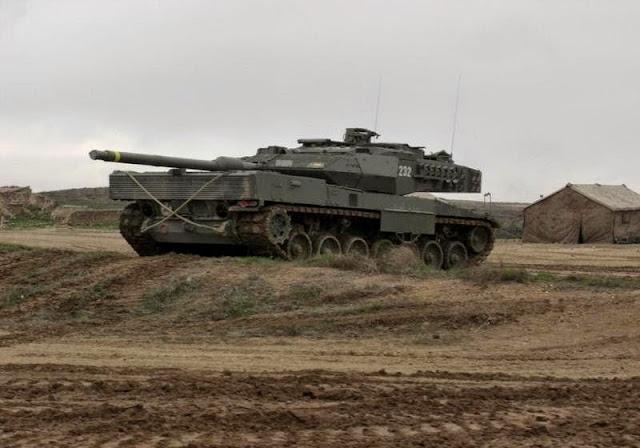 SDLE se adjudica el suministro de un sistema de reprogramación de calculadores balísticos para los carros Leopardo 2E