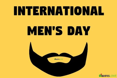 70+ (Best) International Men's Day 2020 Quotes, Wishes, Images
