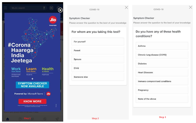 corona-symptoms-tracker-for-covid-19-by-lanched-relaince-airtel