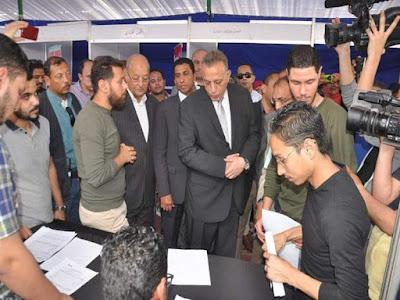 محافظة الجيزة تعلن 11 ألف فرصة عمل للشباب