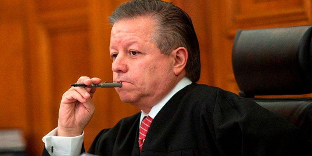 Calderón me amenazó, denuncia presidente de la Suprema Corte
