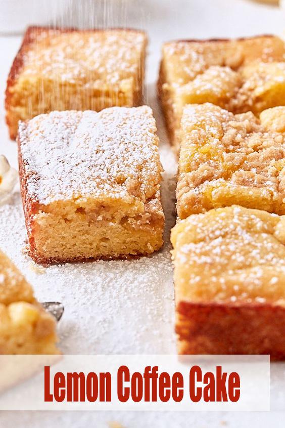 Lemon Coffee Cake Recipe