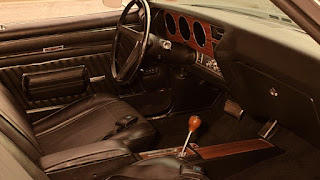 Valiant Black 1970 Pontiac LeMans GTO Dashboard