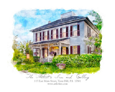 The Artist's Inn and Gallery in Terre Hill Pennsylvania