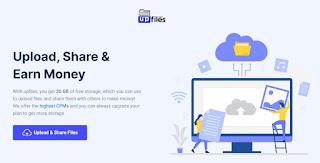 Upfiles, gana dinero subiendo y compartiendo archivos