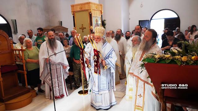 Αρχιερατική Θεία λειτουργία στον Άγιο Λουκά Ναυπλίου (βίντεο)