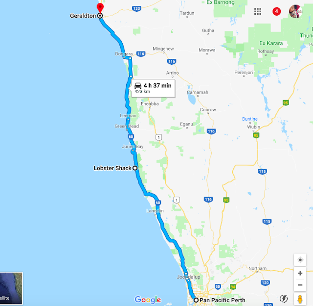 Coral coast road trip itinerary