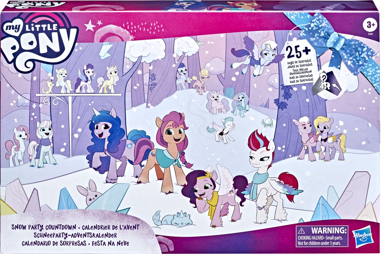 Snow PArty Countdown Generation 5 MLP